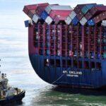 Contenedores perdidos en el mar: 10 años de estadísticas