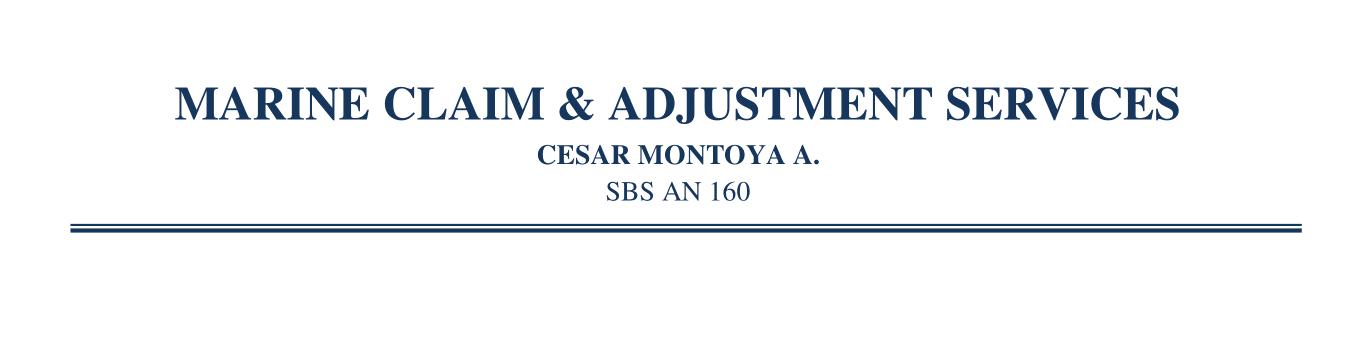 marine claim & adjustment services